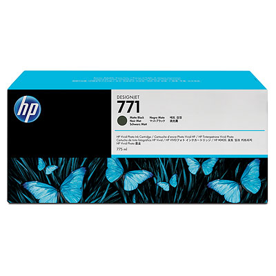 Mực in HP 771 775-ml Matte Black Designjet Ink Cartridge (CE037A)